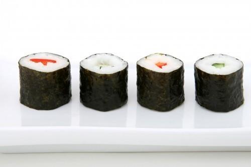 L'algue nori contient jusqu'à 50 % de protéines.