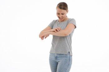 Les allergies peuvent provoquer des démangeaisons