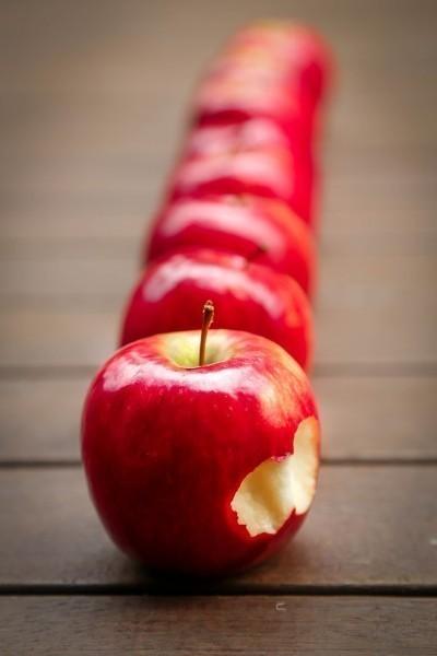 Les pommes drainent tout en reminéralisant...