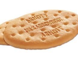 Les biscuits à l'arrow-root sont souvent destinés aux très jeunes enfants qui n'ont pas encore de dents.